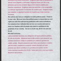 "Speech in Support of Immigration Reform"""" by Ernest Rodriguez Page 4"