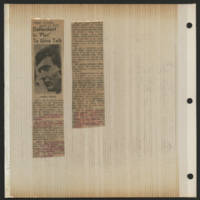1971-04-09 Press-Citizen Article: 'Defendant In 'Plot' To Give Talk'
