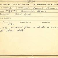 Thomas Wilmer Dewing, egg card # 022