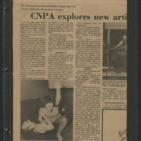 "1972-07-07 """"CNPA explores new artistic expression"""""
