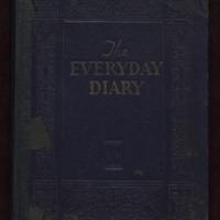 M. J. Delaney cookbook, 1933