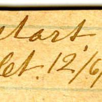 Clinton Mellen Jones, egg card # 330
