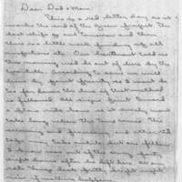 1945-09-10 John Graham to Mr. & Mrs. William J. Graham Page 1