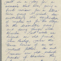 1943-04-05 Bessie Rector to Laura Frances Davis Page 2