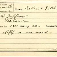 Thomas Wilmer Dewing, egg card # 028