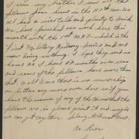 1945-08-02 Sgt. Forrest Mitchell to Dave Elder Page 2