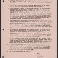 1971-11-03 Iowa Drug Abuse Authority - Minutes Page 1