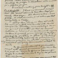 Robert Morriss Browning correspondence to Mabel C. Williams, July-December 1918