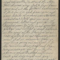 1918-03-05 Harvey Wertz to Mr. L.A. Wertz Page 1