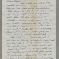 1943-07-21 Bill Behrens to Lloyd Davis Page 1