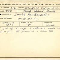 Thomas Wilmer Dewing, egg card # 215
