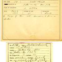 Thomas Wilmer Dewing, egg card # 539