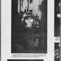 "1972-05-12 Iowa City Press-Citizen Article: """"Tear Gas Breaks Up 'Blockade for Peace'"""" Page 2"