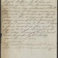 1917-10-08 Harvey Wertz to Mr. L.A. Wertz Page 4