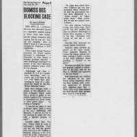 """1971-04-24 Des Moines Register Article: """"""""Dismiss Bus Blocking Case"""""""""""