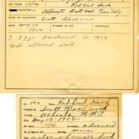 Thomas Wilmer Dewing, egg card # 109