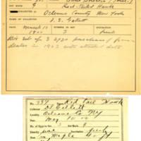 Thomas Wilmer Dewing, egg card # 220