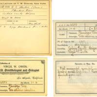 Thomas Wilmer Dewing, egg card # 509