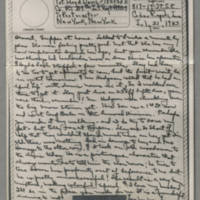 1943-07-21 Laura Davis to Lloyd Davis