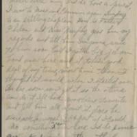 1918-05-16 Harvey Wertz to Miss Eloise Wertz Page 3