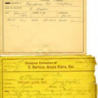 Thomas Wilmer Dewing, egg card # 642u
