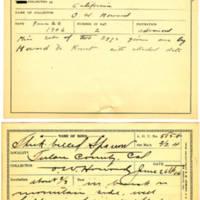 Thomas Wilmer Dewing, egg card # 468