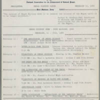 1968-02-15 Newsletter, Fort Madison Branch of the NAACP Page 1