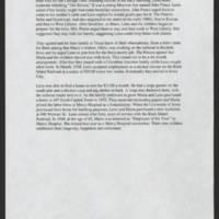 Summary by Margaret Richardson Page 3