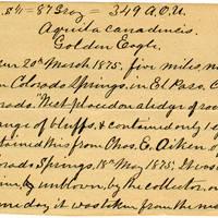 Clinton Mellen Jones, egg card # 147
