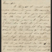 Childs family letters, 1866-1870