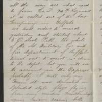 1861-05-12 William E. Thorpe to Alfred Thorpe Page 2