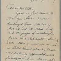 1945-09-29 Glenn Duncan to Mr. Dave Elder