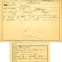 Thomas Wilmer Dewing, egg card # 179