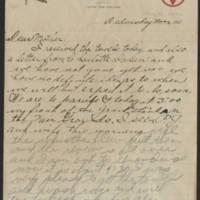 1917-08-29 Harvey Wertz to Mrs. L.A. Wertz Page 1