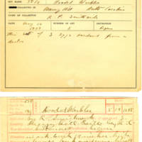 Thomas Wilmer Dewing, egg card # 548
