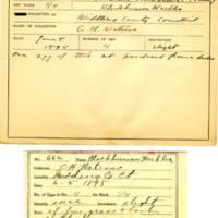 Thomas Wilmer Dewing, egg card # 532