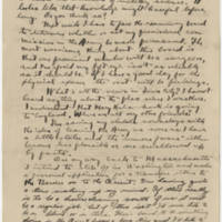 1919-08-20 Robert M. Browning to Dr. Mabel C. Williams Page 2