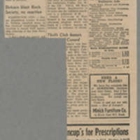 "1965-10-26 Washington Evening Journal Editorial: """"Good Judgment by Dr. Bowen"""" Page 2"