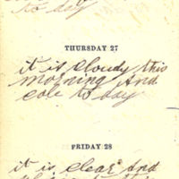 1863-08-26 -- 1863-08-28