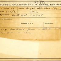 Thomas Wilmer Dewing, egg card # 025