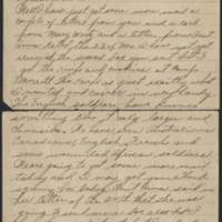 1917-12-20 Harvey Wertz to Miss Dorothy Wertz Page 1