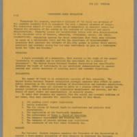 Washington March Resolution