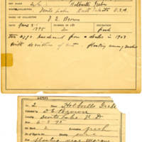Thomas Wilmer Dewing, egg card # 003