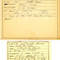 Thomas Wilmer Dewing, egg card # 512