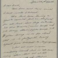 1945-07-22 Sgt. Willard E. Gray to Dave Elder Page 1