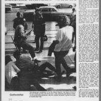 """1971-03-25 Daily Iowan Article: """"""""'One false move and somebody is dead???'"""""""" Page 2"""