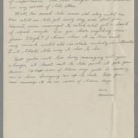 1945-01-23 Maurice Hutchison to Laura Frances Davis Page 2
