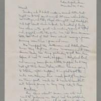 1942-12-20 Laura Davis to Lloyd Davis Page 1