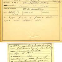 Thomas Wilmer Dewing, egg card # 191