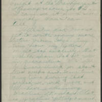 1918-08-10 Thomas Messenger Mrs. N.H. Messenger Page 2